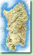 Cartine E Mappe Della Sardegna Italia Stradale Ambientale