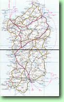 Cartina Stradale Sardegna Pdf.Cartine E Mappe Della Sardegna Italia Stradale Ambientale Archeologica Enogastonomica